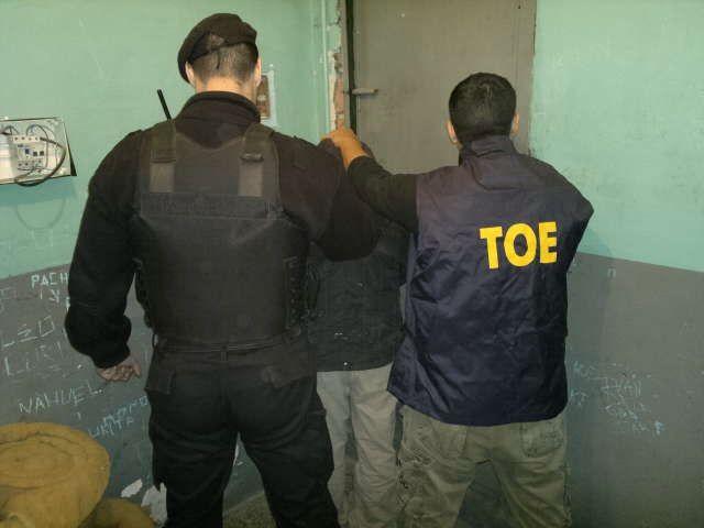 Las TOE apresaron al presunto autor del crimen de un joven cometido el 21 de septiembrede 2011.