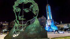 Video: así se ve desde un dron la nueva iluminación del Monumento