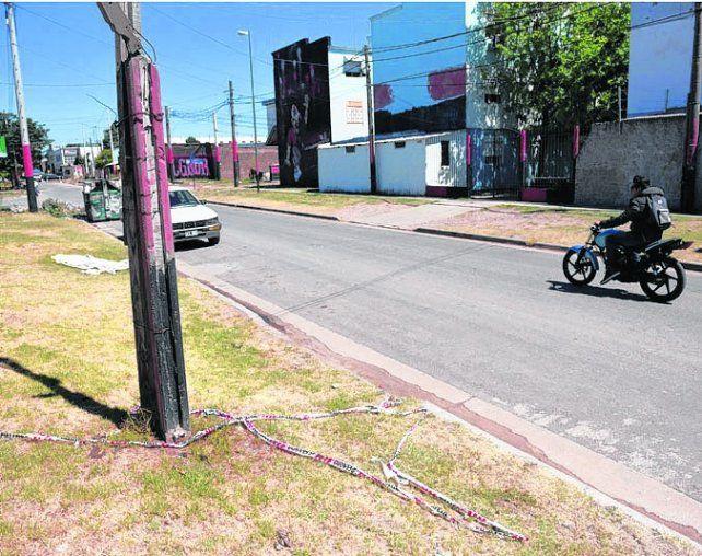 zona sur. Romero fue asesinado ayer a las 6.40 en Callao y Doctor Riva.
