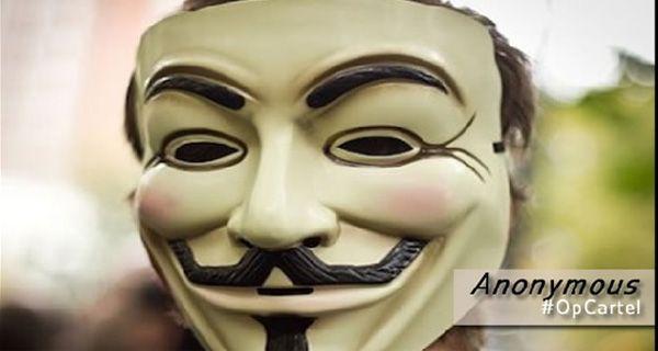 Piratas informáticos de Anonymous en guerra con el cartel de los Zetas