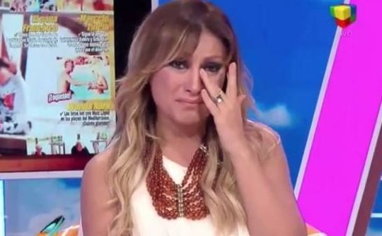 Marcela Tauro no ocultó sus lágrimas por el trato que recibió por parte de Brieva.