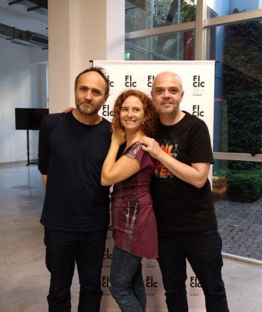 Directores. Roger Koza, director artístico; Carla Briasco y Eduardo Leyrado, en dirección y producción general.
