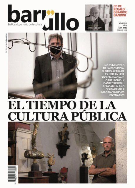 La tapa del Nº 12 de la revista cultural rosarina.