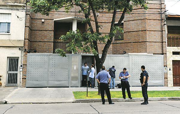 La casa del médico Omar Ulloa fue baleada en enero de 2013. (Foto: C.M.Lovera)