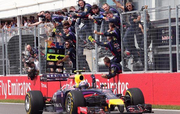 Debut. Ricciardo gana en Canadá. Su primer triunfo