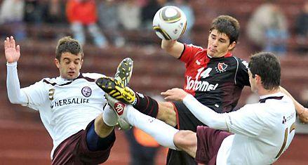 Newells logró un empate positivo ante Lanús