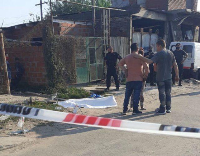 El homicidio se produjo en la zona de Campbell y José Ingenieros. (Foto: @joseljuarezJOSE)