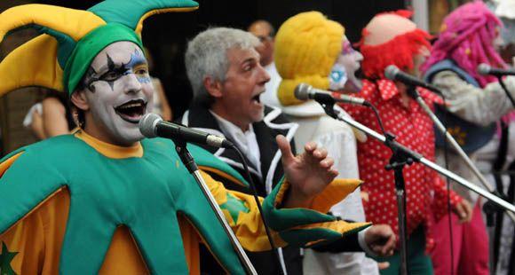 Mónica Fein recibió a una delegación uruguaya que promueve el Carnaval de Montevideo