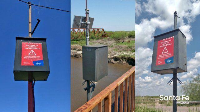 El gobierno provincial puso en funcionamiento la Red de Alerta Hidrológico del río Salado
