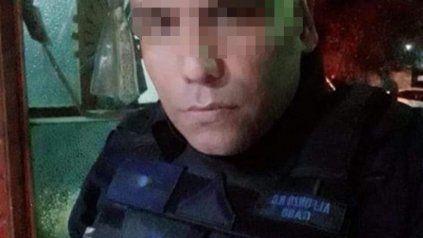 Quién es el policía recién ascendido que este martes asaltó un minimarket
