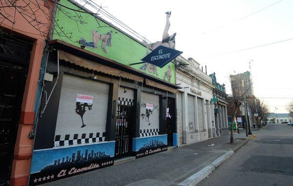 En El Escondite (Callao 78 bis) fueron liberadas el fin de semana 19 mujeres que ejercían la prostitución. (Foto: Enríque Rodríguez)