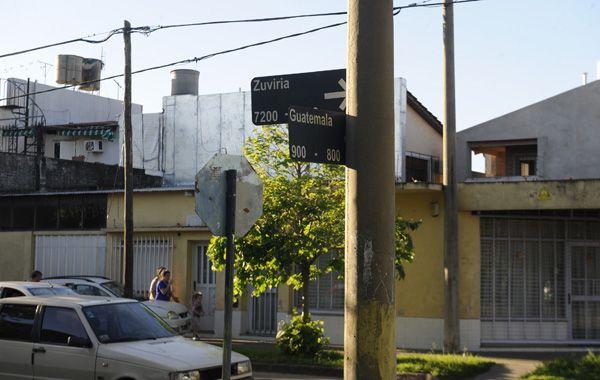 El intento de asalto fue en Guatemala entre Zuviria y Derqui