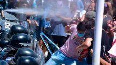 La policía reprimió a los manifestantes formoseños.