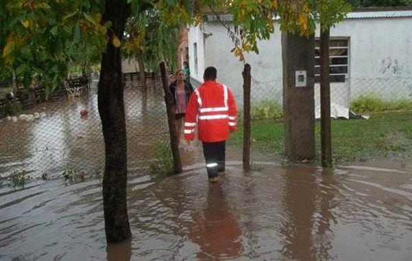 Inundada. En Coronda