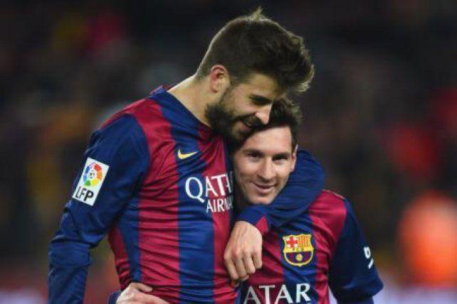 El defensor Piqué también opinó sobre la polémica suspensión que sufrió Messi