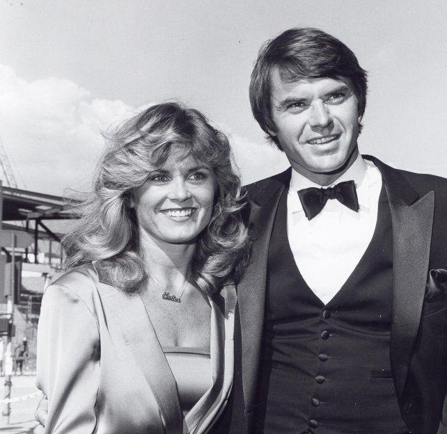Heather Menzies-Urich y su marido Robert Urich.