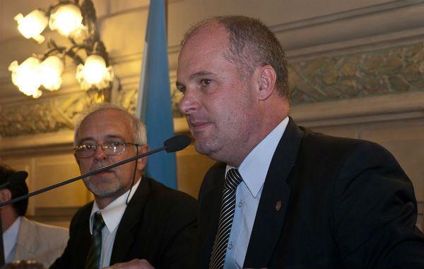 Ratificación. Henn afirmó que la UCR busca acuerdos de largo alcance.