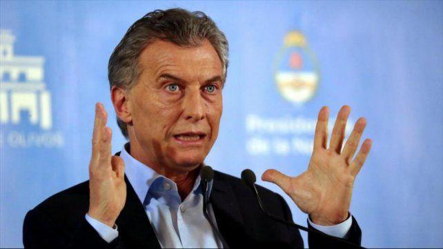 El ex presidente Mauricio Macri dijo que su gobierno tuvo un compromiso con la transparencia