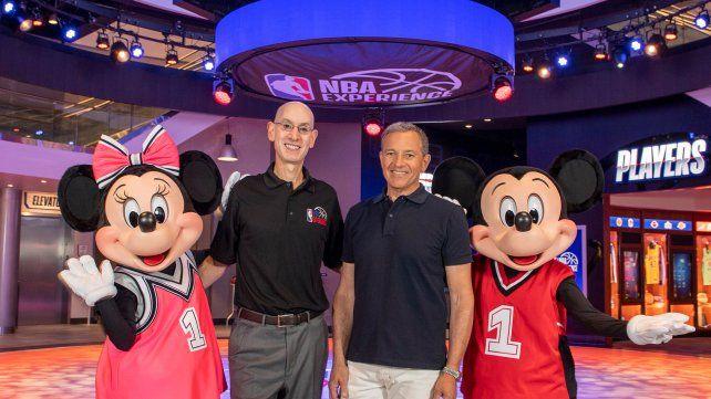 La NBA tiene un espacio en Disney. Ahora buscará cerrar la temporada en el parque temático.