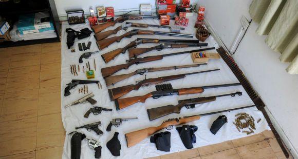 El programa de desarme sacó de circulación unas 10.500 armas en Rosario y Santa Fe