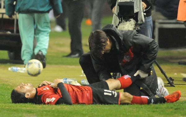 Maxi Rodríguez no viajó con la selección por una lesión