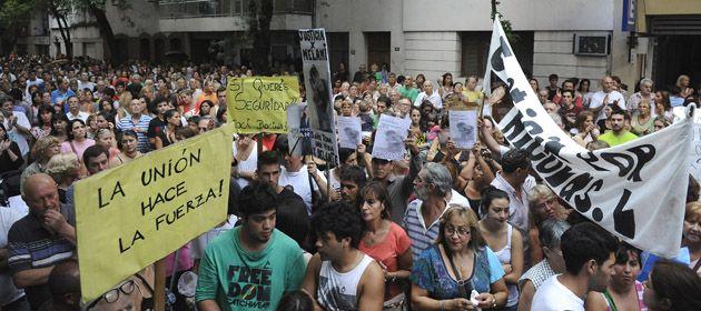 Una de las últimas movilizaciones realizadas en Rosario.  (Foto de archivo)