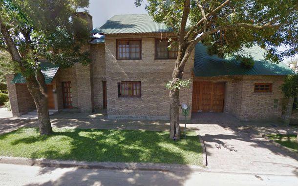 El lugar. La propiedad asaltada la noche del jueves en la ciudad de Funes.