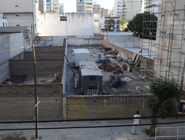 La provincia tampoco descartá avanzar en la expropiación de los terrenos donde ocurrió la explosión. (Foto: V. Benedetto)