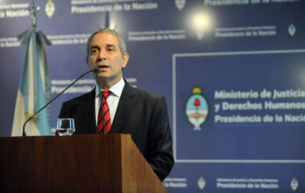El ministro de Justicia