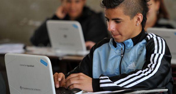 En Santa Fe, las netbooks ya están incorporadas a las tareas escolares
