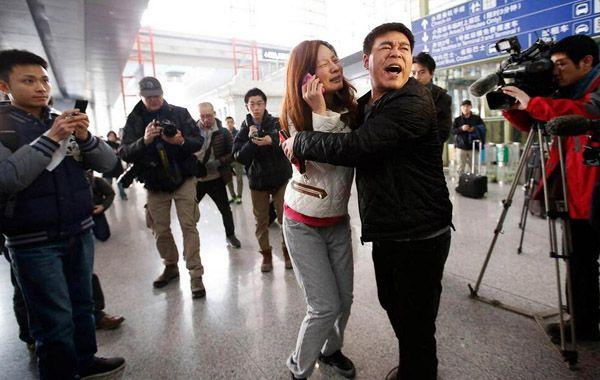 El vuelo de Malaysia Airlines desapareció el domingo con 239 personas a bordo.