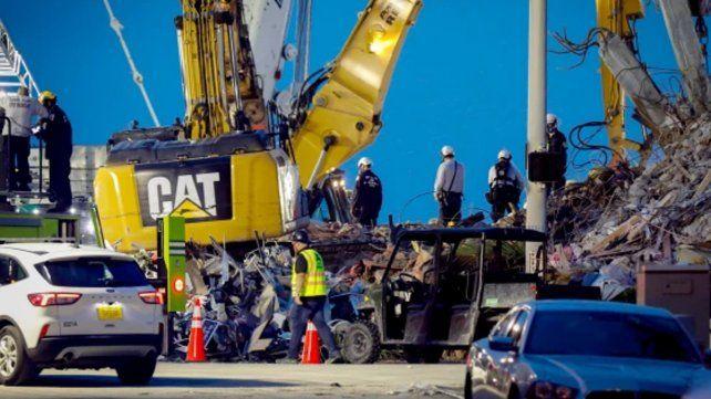 Dieron por terminada la búsqueda de sobrevivientes del edificio derrumbado en Miami