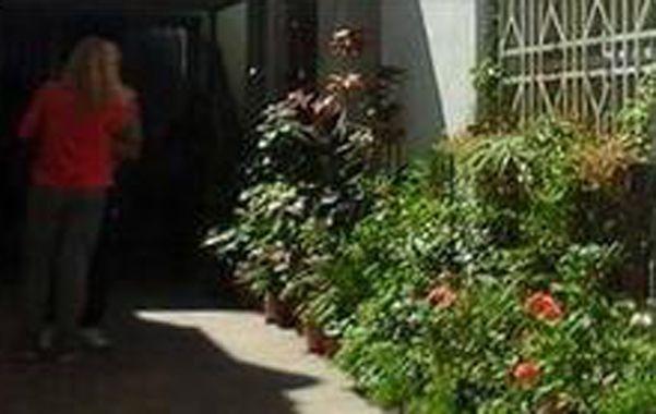 El lugar. Los ladrones entraron a la casa donde Fernando P. reside con sus padres