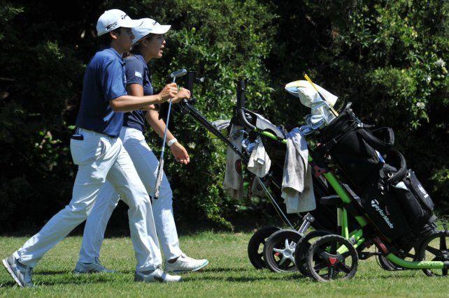 Argentina logró el bronce en el mixto de golf