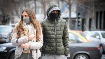 Este jueves el frío se hizo sentir por primera vez en este otoño 2021.