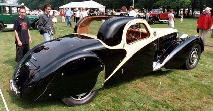 Hallan en un garage inglés un raro Bugatti de 1937 que superaba los 200 kph
