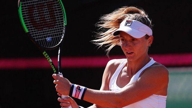 La rosarina Podoroska va por un lugar en los cuartos de final de Roland Garros.