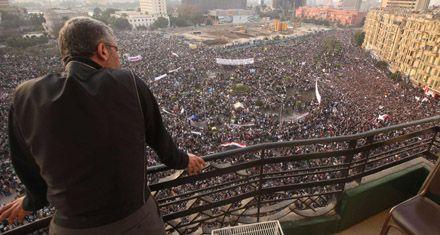 Mubarak se niega a abandonar el poder hasta que haya elecciones