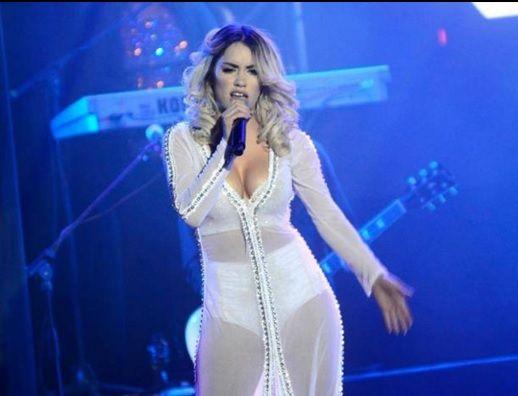 La popular cantante estará en el festival de doma y folclore.