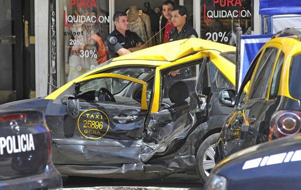 Saldo. Hubo otras cinco personas heridas en el accidente