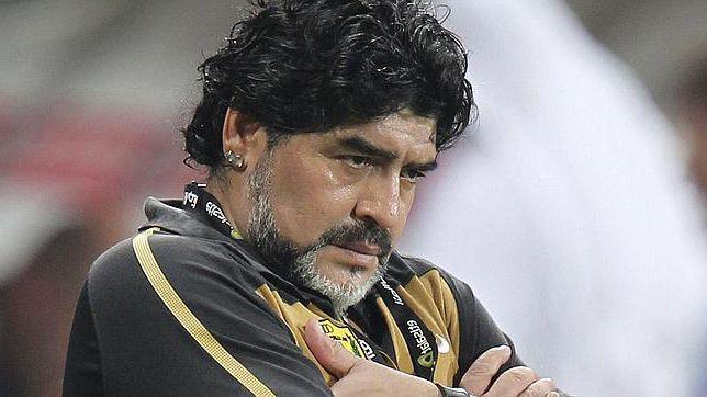 Diego Maradona reconoce como suyo el bebe que está gestando Verónica Ojeda.