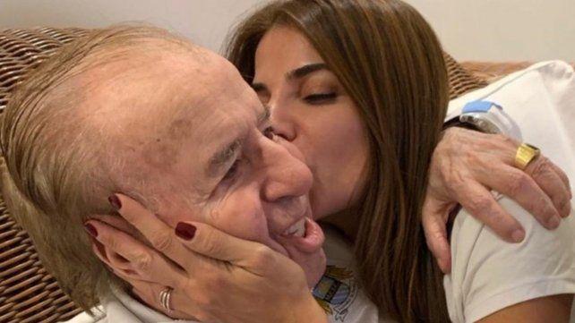 El ex presidente Carlos Saúl Menem continúa internado y se encuentra estable
