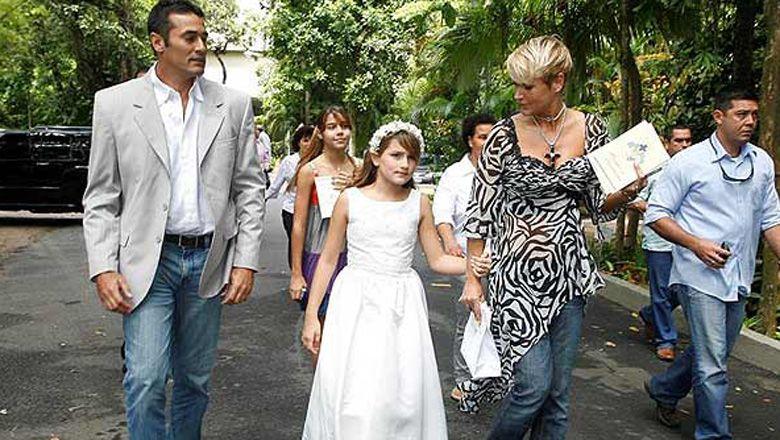 Xuxa dará el sí: se reconcilió y se casa con Luciano Szafir, el padre de su hija