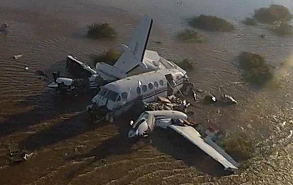 El accidente se produjo a unos 5 minutos de vuelo de Carmelo.