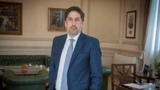 """El ministro Nicolás Trotta dijo que la """"voluntad"""" del gobierno es """"reforzar la presencialidad"""". ."""