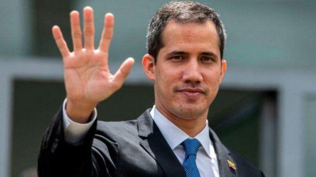 Juan Guaidó recibió un fuerte aval del Parlamento Europeo.