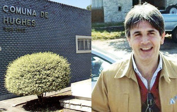 investigador investigado. Varela fue nombrado en septiembre de 2011 como interventor en Hughes a raíz de descalabros financieros en la comuna.