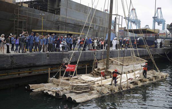 Singulares. Las embarcaciones fueron construidas por la Armada de Perú.