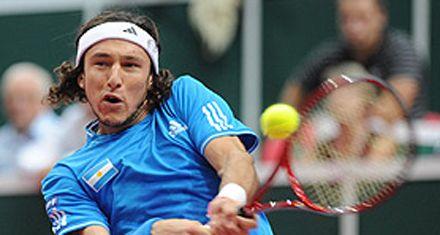 Copa Davis: Mónaco venció a Hanescu y Argentina está 2-0 frente a Rumania