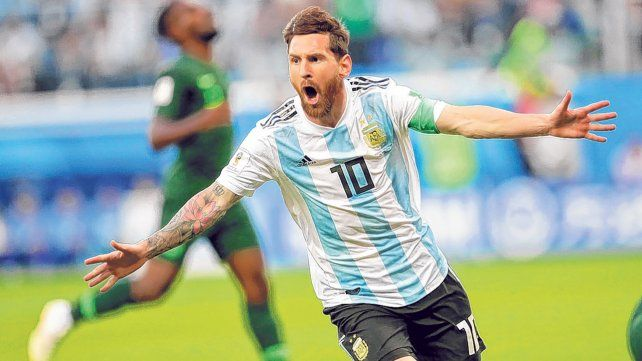 Líder indiscutido. Messi